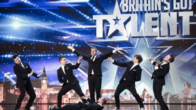 Fair Play Crew during the audition stage for ITV1's talent show, Britain's Got Talent. Photo: SYCO/THAMES TV