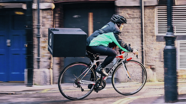 Deliveroo driver contacted woman on Facebook