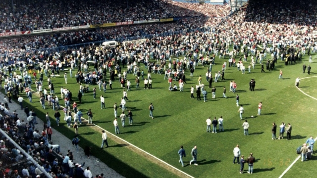 96 Liverpool fans died in the 1989 Hillsborough disaster. (Photo: PA)