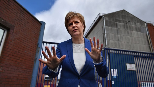 Nicola Sturgeon criticised the Government for failing to make firm commitments (Photo: Getty)