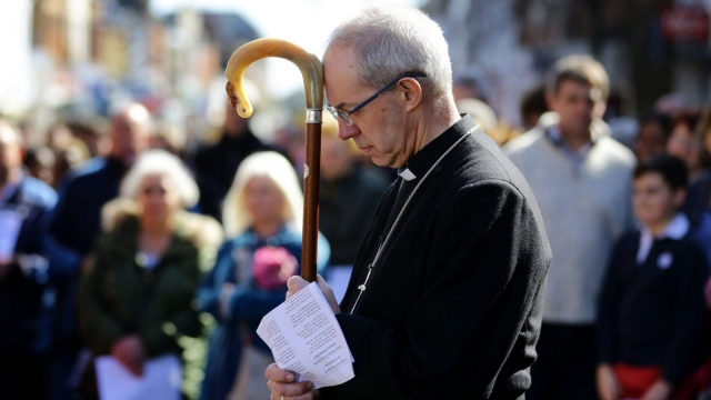Justin Welby reads prayers