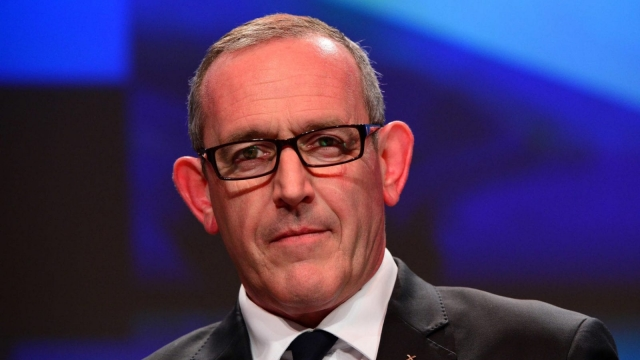 Stewart Hosie during the SNP's spring conference ahead of the 2015 General Election. He has announced his intention to step down as Deputy Leader (Photo: Getty)