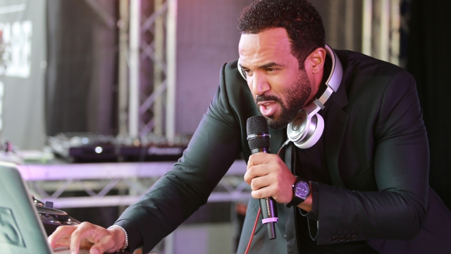 Singer Craig David is back with 'One More Time'. Photo by Wayne Taylor/Getty Images