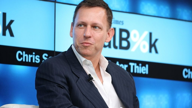 Silicon Valley billionaire investor Peter Thiel