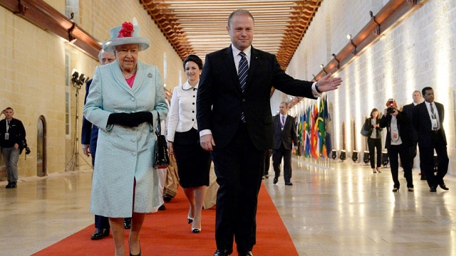 The Queen And The Duke Of Edinburgh Attend The Commonwealth Heads Of Government Meeting