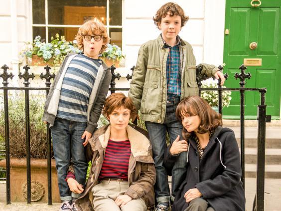 Faye Marsay and Helena Bonham Carter star in the BBC adaptation of Nina Stibbe's 'Love, Nina'
