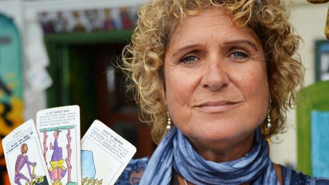 Tarot card reader Jayne Braiden