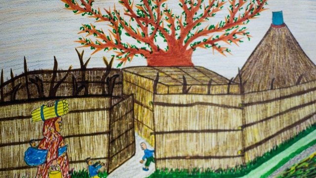 Yasir's artwork