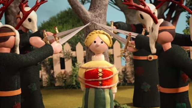 The video for Radiohead's comeback single 'Burn the Witch'