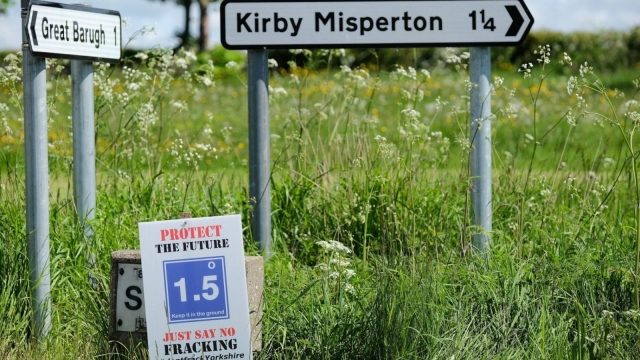 An application to frack at Kirby Misperton was approved in May.(Photo: Getty)