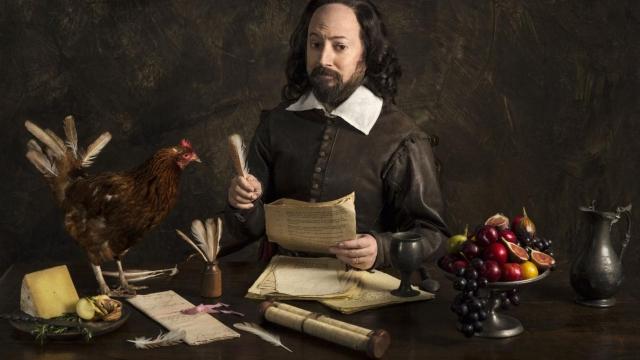 David Mitchell as William Shakespeare in new BBC comedy Upstart Crow
