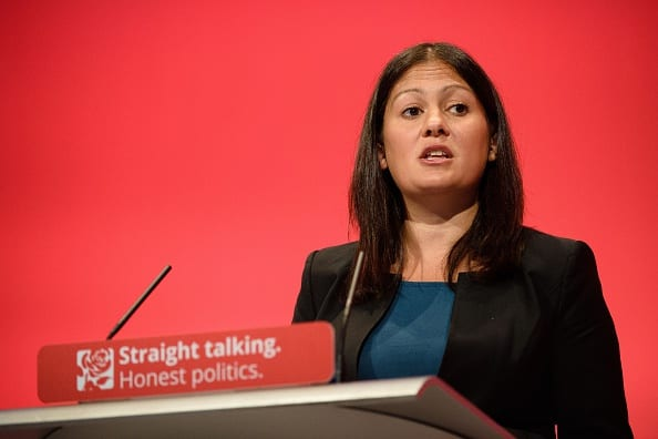 Lisa Nandy: future Labour leader? (Photo credit Leon Neal/AFP/Getty Images.)