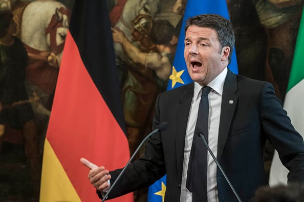 Matteo Renzi (Photo by Giuseppe Ciccia/Pacific Press/LightRocket via Getty Images)