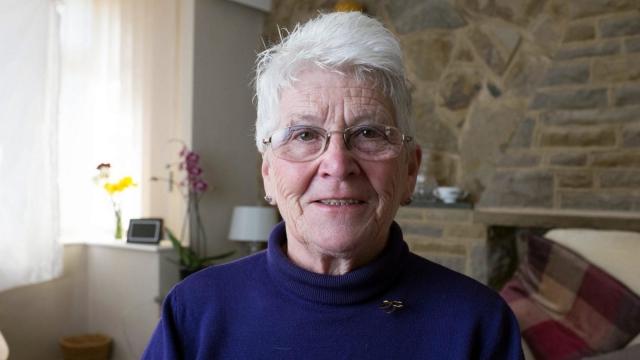 Foster mother extraordinaire Frances Chorlton