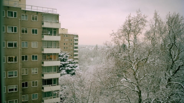 'Flats' Is a series of photographs about a block of council flats in the Wandsworth area of London