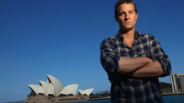 Bear Grylls (Photo by Luis Ascui/Discovery Channel via Getty Images)