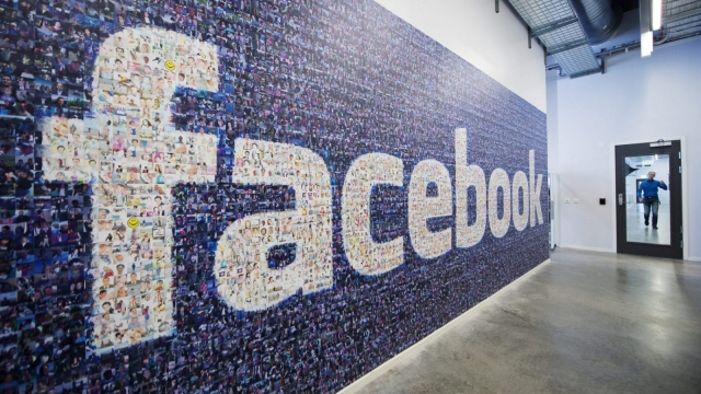 Facebook is replacing TV as first source of news for digital generation © JONATHAN NACKSTRAND/AFP/Getty Images