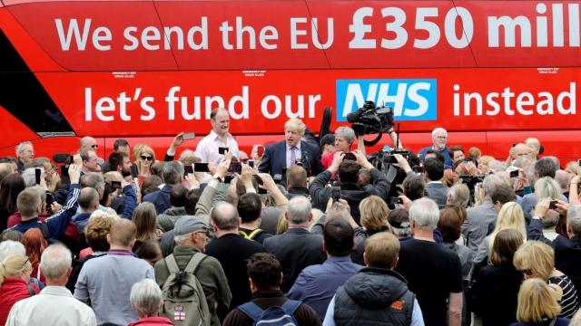 NHS bus leave ukip campaign