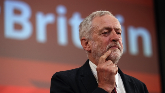 Labour leader Jeremy Corbyn makes Labour's case for remaining in the European Union.
