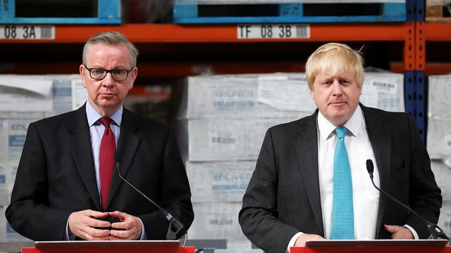 Boris Johnson and Michael Gove have both launched a campaign to become the next Tory leader, despite Gove previously saying he would step aside (Photo: Getty)