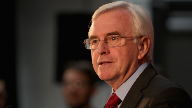 Shadow Chancellor John McDonnell (Photo: Getty)