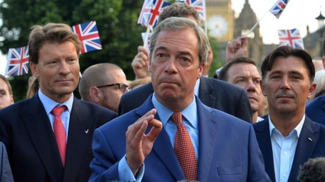 Nigel Farage (Photo: Getty)