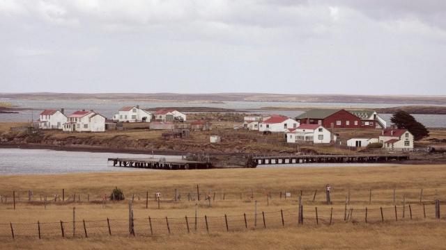 Goose Green, Falkland Islands (Photo: Getty)