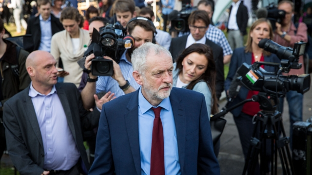 Jeremy Corbyn is getting grassroots backing (Rob Stothard/Getty Images)