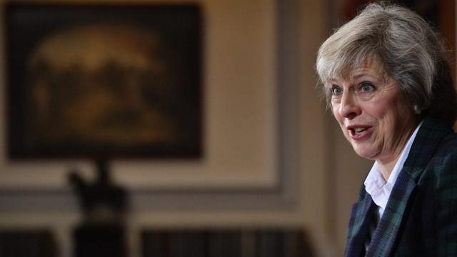 Theresa May (Photo: Getty)