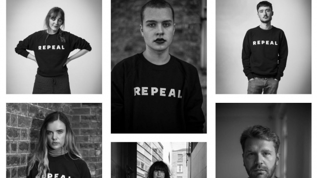 The Repeal Project's slogan jumpers