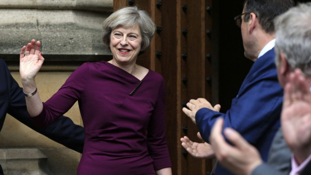 Theresa May won the votes of 199 MPs (Photo: PA WIRE)