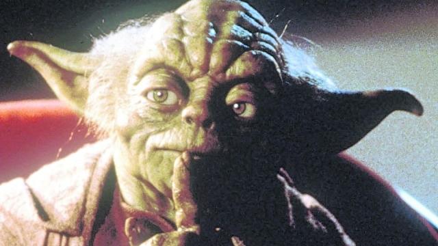 Yoda as he appears in 'Star Wars: Episode 1'