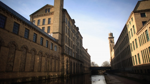 Saltaire in Bradford became one of Britain's most successful industrial towns - but what now of the northern powerhouse? (Photo: Getty)