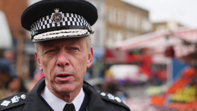 """Metropolitan Police Service Commissioner Sir Bernard Hogan-Howe has warned a fresh terror attack on Britain is a matter of """"when, not if"""". (Photo: Getty Images)"""