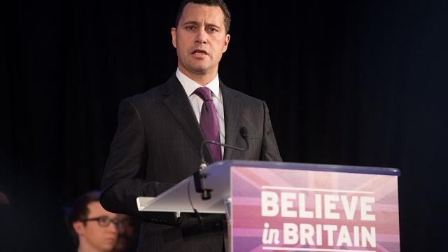 Former Ukip MEP Steven Woolfe (Photo: Getty)
