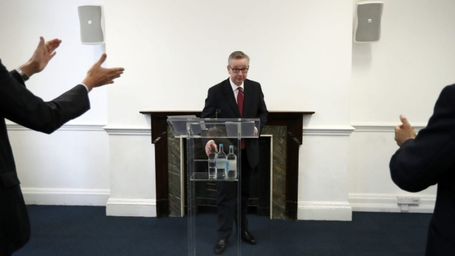 Michael Gove ran for Conservative leadership briefly after backing Leave during the referendum (Photo: Carl Court/Getty Images)