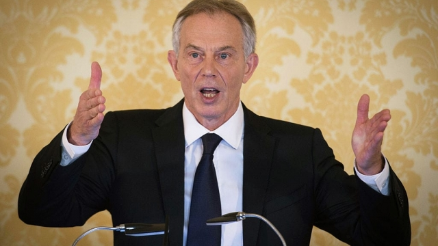 """Speaking after the publication of the Chilcot report last July, Tony Blair said he took """"full responsibility"""" for the decision to invade Iraq in 2003 but insisted the world was a better place without Saddam Hussein. (Photo by Stefan Rousseau - WPA Pool/Getty Images)"""