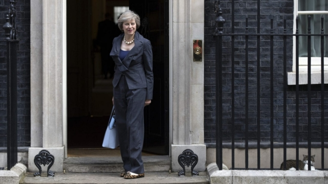 Prime Minister-in-waiting: Theresa May arrives for Cabinet meeting (Photo by Carl Court/Getty Images)