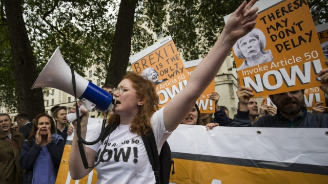 Campaigner who want to speed up triggering Article 50 after the Eu referendum