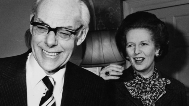 Denis Thatcher remained a valuable, if low-profile, consort during his wife's Downing Street tenure. But official papers reveal his determined intervention in a Number 10 guest list for a reception to be attended by his wife. (Photo: Getty Images)