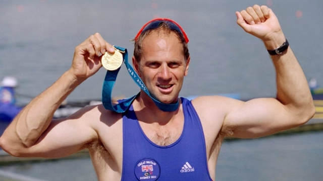 Sir Steve Redgrave wins his fifth Olympic gold medal at the Sydney Games in 2000
