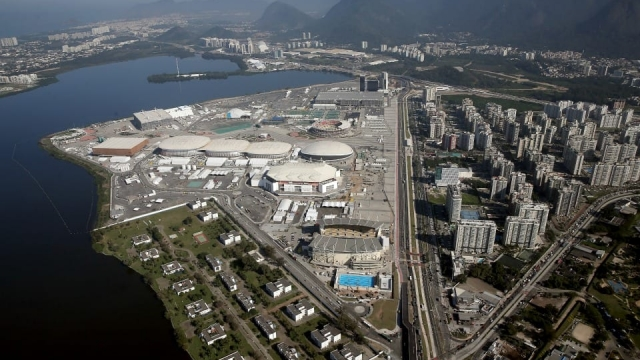The Olympic Park in Rio