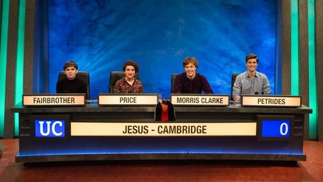 University Challenge (Photo: BBC)