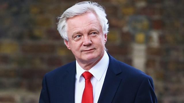 Brexit Secretary David Davis: about to publish Article 50 Bill (Photo: Getty)