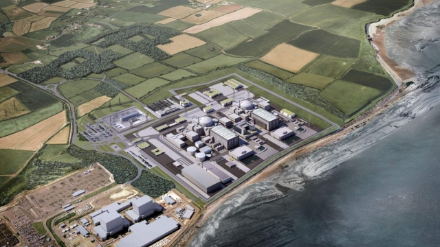 A computer generated image of Hinkley Point in Somerset (Photo: Getty)