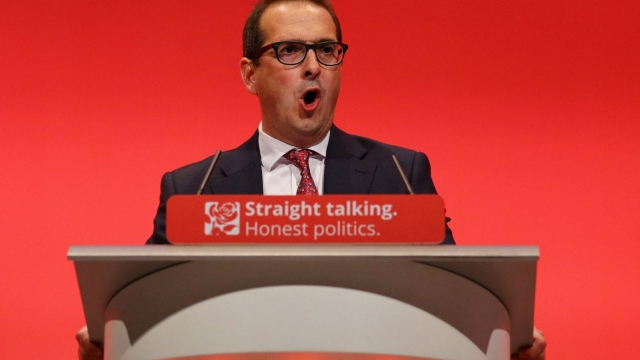 Owen Smith speaks at last year's Labour conference (Photo: PA)