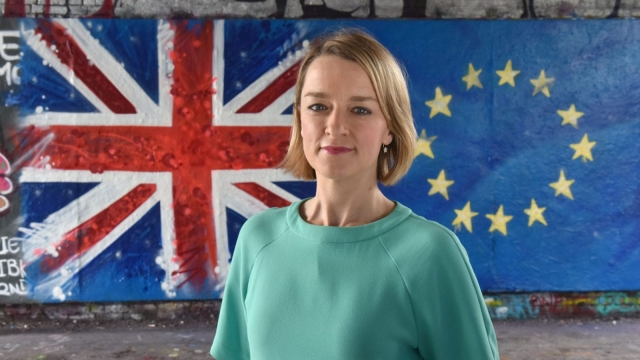Laura Kuenssberg 'made Brexit her own story' (Photo: BBC)