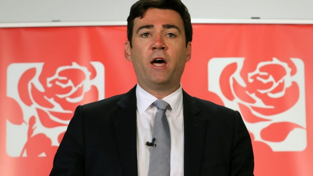 Former Shadow Home Secretary Andy Burnham is running to be Manchester's Mayor (Photo: PA Wire)
