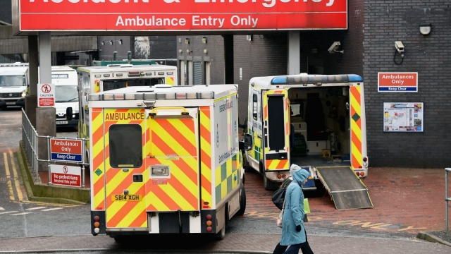 Ambulance trusts have begun to take steps to reduce their carbon footprint as the report reveals five per cent of all road traffic at any one time is estimated to be on NHS business.