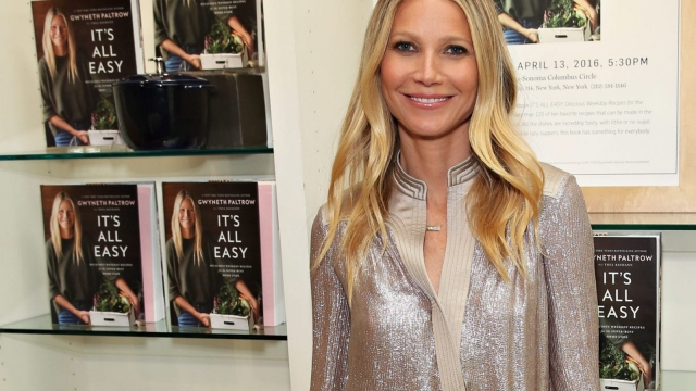 Gwyneth Paltrow is one of several celebrities who have followed a gluten-free diet.